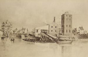 Burlington steam mills and water mills