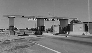 NJ Turnpike Toll Booth