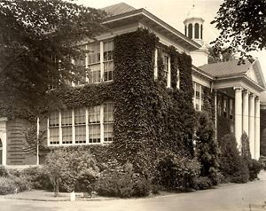 Bordentown School administration building.