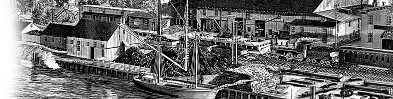 Union Steam Forge, Mac Pherson Willard & Company, Bordentown Township, White Hill Station