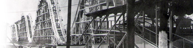Burlington Island Island Beach Amusement Park Roller Coaster